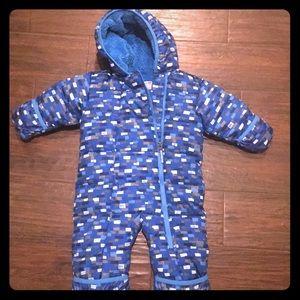 Columbia baby snow suit